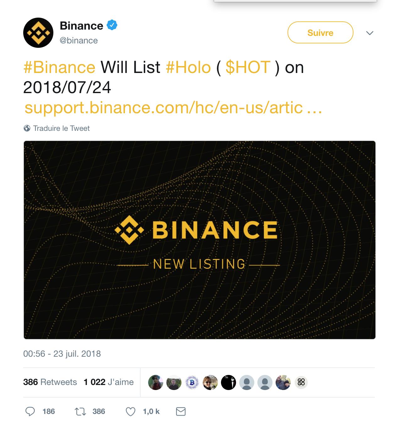 Holo-binance