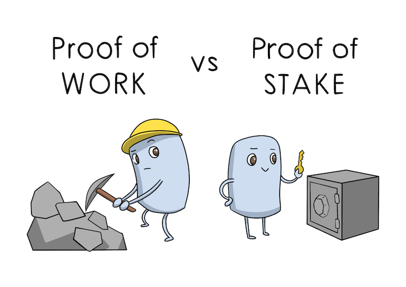 Proof Of Stake, vers la bancarisation des cryptos ?